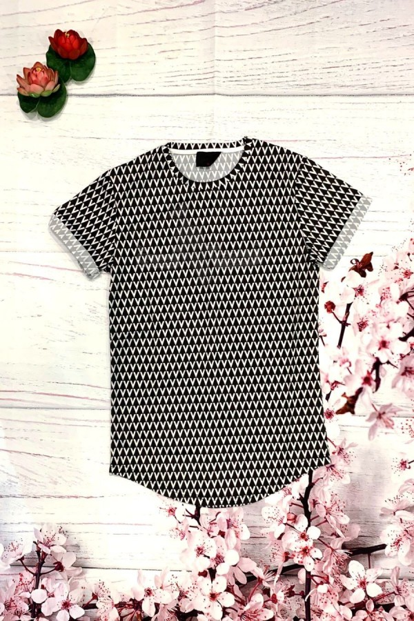 Camiseta estampado V
