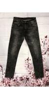 Pantalon hombre vaquero gris lavado