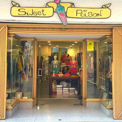 SweetPoison tienda física